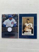 2005 2009 ARAMIS RAMIREZ LOT Origins Old Judge Blue #65 /50 UD Icons IC-RA /25