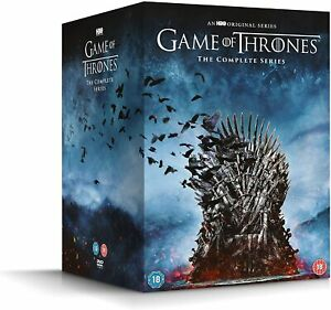 GAME OF THRONES COMPLETE SERIES DVD 38 DISC SET REGION 4 NEW & SEALED