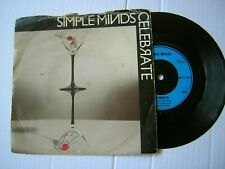 "Simple Minds / Celebrate b/w Changeling- 7"" Single Vinyl 1980 VG  Tested"
