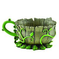 Fiddlehead Fairy Garden- Fairy Teacup Planters- Miniature Garden Accessory