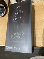 Sideshow Collectibles Star Wars Tie Pilot Rare Rogue One Limited To 2000 Pieces