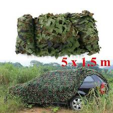 16FT x 5FT Woodland Shooting Hide Army Camouflage Net Hunting Camp Camo Netting