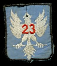 ARVN 23rd Division South Vietnamese Army Vietnam Patch F-2