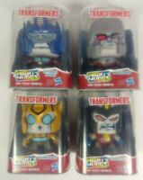 "Lot of 4 Mighty Muggs Transformers Optimus, Megatron, Bumblebee & Starscream 4"""