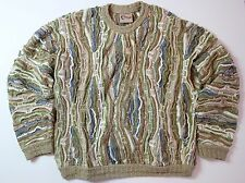 Coogi Classic Australia Large Crewneck Sweater VTG Hip Hop Indie Cosby Biggie