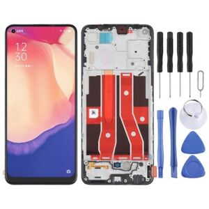 For OPPO Reno4 SE OEM LCD Display Screen Frame Digitizer Touch Assembly