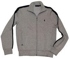 Polo Ralph Lauren Rugby Mens Zip Cardigan Sweater Sweatshirt Jacket Blue Small