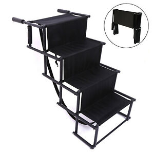Foldable Folding Pet Dog Car Boot Access Steps Ladder Stairs Strong Lightweight