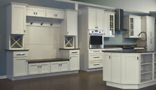 Dover White Shaker Collection JSI 10x10 kitchen cabinets, Kitchen Furniture