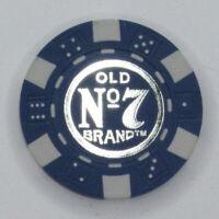 Jack Daniels Poker Chip $10 Blue