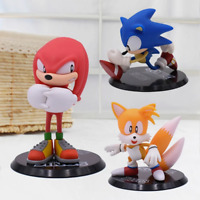 Sonic PVC Action Figure Game Sonic Knuckles Tails
