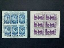 United States stamps, 1934, MNH, 2 mini sheets