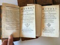 In-12 Obras Dramatic de Destouches 10/10 Las Libreros Asociados 1774