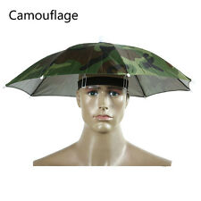 Umbrella Hat Sun Shade Camping Fishing Hiking Outdoor Foldable Headwear New FH