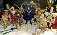 Huge 1994 Skeleton Warriors Paymates Action Figure Lot