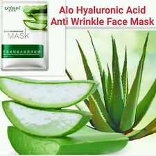 Pure Hyaluronic Acid Face Mask Collagen peeling Anti Ageing Wrinkle Alovera Mask