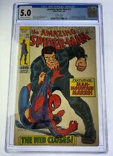 Amazing Spider-Man #73 CGC 5.0 OW/W pages 1969 Marvel Comics 1st app Silvermane