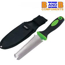DRAPER 02139 MULTI PURPOSE GARDEN TOOL & POUCH WEEDER SAW CUTTER A1625