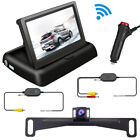 Wireless Car Reversing Backup Camera 4.3 inch Rear Monitor + Adapter w/ Switch picture