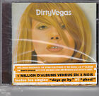 "CD 12 TITRES DIRTY VEGAS ""DIRTY VEGAS"" DE 2002 NEUF SCELLE FRENCH STICKER"