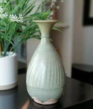 *RARE* 15th Century A.D. Sukhothai Large Celadon Vase