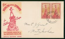 Mayfairstamps New Zealand 1945 Health Stamps Matakohe first Day Cover wwp79873