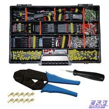 AMP Superseal Starter Set Stecker 1-6-pol Ausstecher Crimpzange für FSH