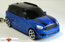 HTF KEY CHAIN BLUE BLACK MINI COOPER COUNTRYMAN CUSTOM LIMITED EDITION BRAND NEW