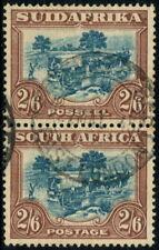 SOUTH AFRICA - 1944 2/6 'BLUE & BROWN' VFU SG496 Cv £15 [A8891]