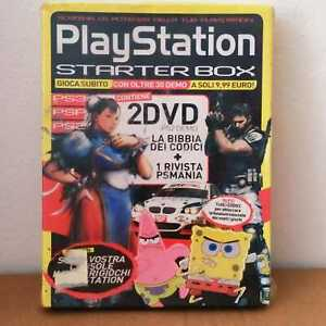 PLAYSTATION STARTER BOX 2 DEMO + BIBBIA DEI CODICI + RIVISTA PSMANIA