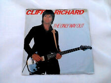 """CLIFF RICHARD - THE ONLY WAY OUT - 7"""" VINYL SINGLE P/S 1982"""