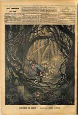 AFFAIRE REDON TALABARD EVASION DE GUYANE BAGNE DE CAYENNE 1890