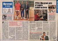 Coupure de presse Clipping 1988 Patrick Poivre d'Arvor  (2 pages)