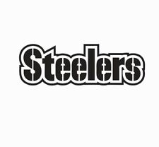 Pittsburgh Steelers LARGE NFL Football Vinyl Die Cut Decal Sticker-FREE SHIPPING