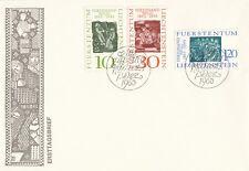 GS0129. FDC. LICHTENSTEIN. Ersttagsbrief Europa CEPT 07.12.1965 (VADUZ).