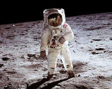 Apollo 11 Buzz Aldrin auf dem Mond 8x10 Silber Halogen Fotodruck