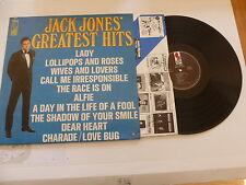 JACK JONES' - Jack Jones' Greatest Hits - USA KAPP Label 11-track Vinyl LP
