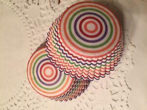 Rainbow Cupcake Liners-4 Dozen-48 Standard Liners