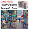 1000 Pieces Adult Puzzles Difficult Noctilucent Growups Puzzle Romantic Town NEW
