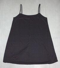 STITCHES: Size: 18. Sleek Slinky BLACK Comfy Longer Thigh-Length, Body-Slip