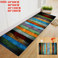 Fashion Dining Room Carpet Shaggy Soft Area Rug Bedroom Rectangle Floor Mat AU
