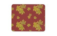 Autumn Maple Leaves Mouse Mat Pad - Leaf Tree Forest Canada Computer Gift #16243