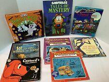 Halloween Books Lot Of 8 Children's Variety-Haunted House Pop-Up-Magic School
