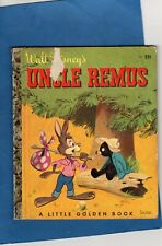 Vintage (2) Walt Disney Uncle Remus Song Of The South Little Golden Books