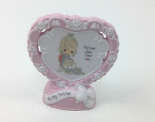 Precious Moments Mother Sewing Heart Shaped Plaque 154555