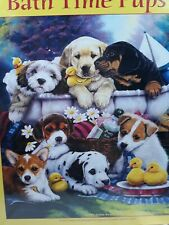 Bath Time Pups By Jenny Newland 1000 puzzle brand new sealed