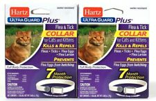 2 Count Hartz Ultra Guard Plus Flea & Tick Water Resistant Break Away Collar