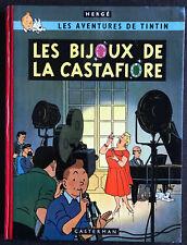 Tintin les bijoux de la Castafiore EO TL 100 ex signé dédicacé