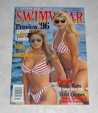 AMERICAN SWIMWEAR Magazine PREVIEW '96 March 1996 Hi Grade! SHAE MARKS USA Venus