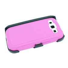 New For Samsung Galaxy S3 Case Cover(Belt Holster Clip fits Otterbox Defender)